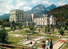 13353977 St_Moritz_Bad_GR Hotel Reine Victoria Minigolfplatz St_Moritz_Bad_GR - Non Classificati