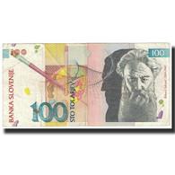 Billet, Slovénie, 100 Tolarjev, 1992, 1992-01-15, KM:14A, SUP - Slovénie