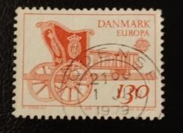 Danemark 1979 DK 687 Letter Mail Cariole Attelage De Chevaux | C.E.P.T. / Europa | Unions Postales | Véhicules - Danemark