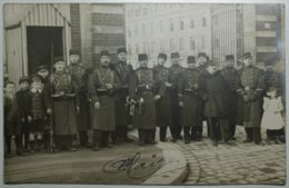 MILITARIA - Carte Photo - AMIENS Caserne Friant - Amiens