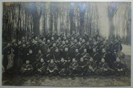 MILITARIA - Carte Photo - VERSAILLES  Musique Militaire - Versailles