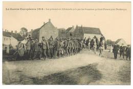 VEURNE Prisonniers Allemands Quittent Furnes Pour Dunkerque - Veurne