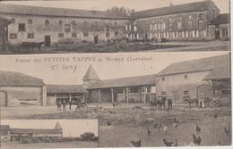 57 - WOIPPY - LES PETITES TAPPES - ST REMY - 2 VUES DE LA FERME - Francia