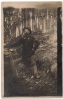 Militaire 1915 Guerre 1914-1918 67e BCA Bataillon De Chasseurs Alpins Carte Photo - Chasseur Alpin - Guerre 1914-18