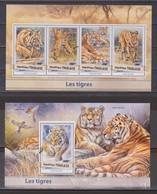 Togo - 2017 Tiger  ** - Big Cats (cats Of Prey)