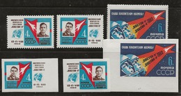 Russie 1962 N° Y&T :  2550 à 2552 + ND. ** - 1923-1991 UdSSR