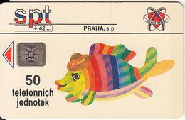 CZECHOSLOVAKIA - Rybicka, Chip SC5, CN : C22036454, Tirage %3500, 05/92, Used - Tchécoslovaquie