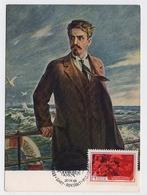 CARTE MAXIMUM CM Card USSR RUSSIA Literature Writer Critic Shaumyan Journalist Baku 26 Commisar Armenia - 1923-1991 URSS
