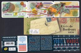 FRANCE 1992-2020 / LOT DE 12 BANDES CARNET VIDES.........TOUS THEMES - Blocchi & Foglietti