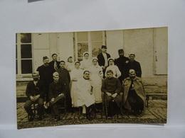 CPA  Photo A Retrouver Infirmières Et Soldats Blessés TBE - Dokumente