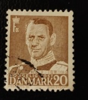 Danemark 1950 DK 318  King Frederik IX  Chef D'état | Hommes | Personnalités | Rois | Royauté - Danemark