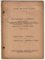 Cours D'œnotechnie Par L. Mathieu - Vinification - Fermentation Et Levains - Œnologie - 2 Scans - 1901-1940