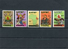 ETHIOPIA 1977 Call Of The Motherland.MNH. - Ethiopie
