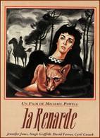 Carte Postale - La Renarde (renard) (cinéma Affiche Film) Illustration : René Péron - Affiches Sur Carte
