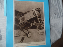 """GUERRE DE 1914-1918  -  BOMBARDEMENT PAR AVION  (dessin Du LUCIEN JONAS° """"recto""""  -  LES SURPRISES DE L'AMALGAME """"verso"""" - Dokumente"""