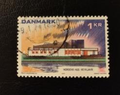 Danemark 1973 DK 555 Nordic House Reykjavik Iceland Bâtiments | Emissions Communes | Le Nord | Unions Postales - Danemark
