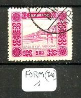 FORM(TAI) YT 168 En Obl. - Used Stamps