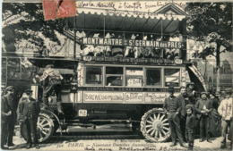 Paris - Nouvel Autobus - Transport Urbain En Surface
