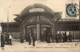 Paris - Station Du Metropolitain - Stations, Underground