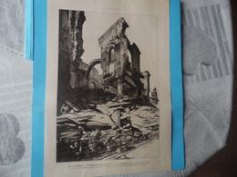 """GUERRE DE 1914-1918  -  """"LES NOUVEAUX MONUMENTS HISTORIQUES - ARRAS - NOUVRON (Aisne) Et ORVAL (Oise) -  Voir Ci-dessous - Documents"""