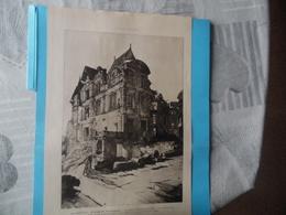 """GUERRE DE 1914-1918  -  """"LES NOUVEAUX MONUMENTS HISTORIQUES - PLESSIS DE ROYE (Oise) - NAMPCEL (Oise)   Voir Ci-dessous - Documents"""