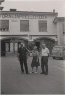 Fotografia Cm. 10,2 X 14,9 Con Trattoria Del Capitello Cocca (Castelgomberto, Vicenza). Settembre 1981 - Luoghi