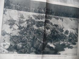 """GUERRE DE 1914-1918  -  SOIR DE DEFAITE ALLEMADE   """"EN  POLOGNE""""  -  Voir Ci-dessous - Documents"""