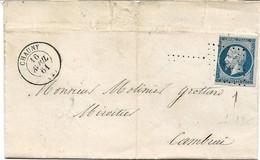 France Facture Saint Gobain Losange PC 829 Chauny 16/04/61 - Poststempel (Briefe)