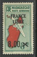 MADAGASCAR 1943 YT PA 54** - Poste Aérienne