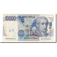 Billet, Italie, 10,000 Lire, 1984, 1984-09-03, KM:112a, TB+ - [ 2] 1946-… : Repubblica