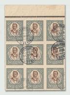 Liberia - 1923 - Nice Block - ( Pres. Charles Dunbar Burgess King ) - Used - Liberia
