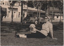Fotografia Cm. 7,5 X 10,3 Con Automobile D'epoca - Automobili