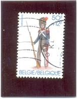 1983 BELGIQUE COB N° 2110 ( O ) Soldat - Belgium