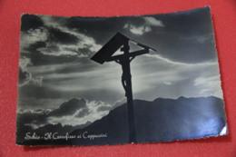 Vicenza Schio Il Crocifisso Dei Cappuccini 1953 Foto Grotto - Vicenza