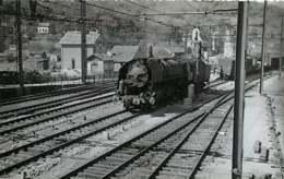 220220 TRANSPORT TRAIN CHEMIN DE FER - PHOTO BREHERET 1953 - 87 SAINT SULPICE LAURIERE Gare - Other Municipalities