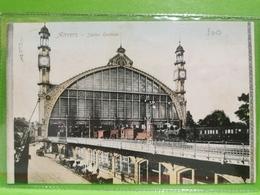 CPA Belgique, Anvers, Gare Centrale. Oblitéré Bettembourg - Antwerpen