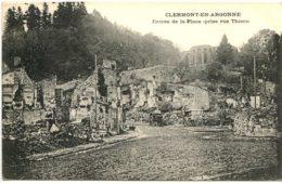 Dpt 55 Clermont En Argonne Entree De La Place Guerre 14-18 - France