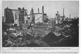 Dpt 55 Clermont En Argonne Place De La Republique No12 Guerre 14-18 - France