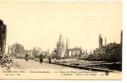 Dpt 55 Clermont En Argonne Ruines Du Village No360 Ed LL Guerre 14-18 Lieux De Bataille - France