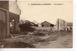 Dpt 55 Domsbale En Argonne Vue Du Centre Du Village No2 Guerre 14-18 EV - France