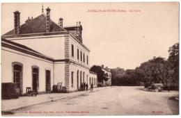 CPA 10 - ROMILLY SUR SEINE (Aube) - La Gare (petite Animation) - Ed. Granddidier - Romilly-sur-Seine