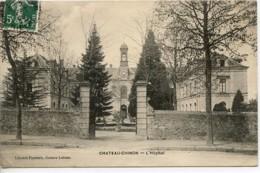 Dpt 58 Chateau-Chinon L Hopital Ed Loizeau - France