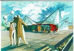 Exposition Universelle Bruxelles 1958 Pavillon Marie Thumas Paviljoen - 2 Scans - Expositions Universelles