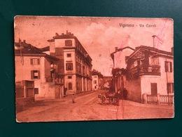 VIGEVANO ( PAVIA ) VIA CAIROLI  1922 - Vigevano