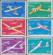 Rumänien 3411-3416 (kompl.Ausg.) Postfrisch 1977 Segelflugzeuge - Unused Stamps