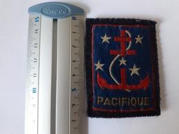 Ecusson - Commandement Du Pacifique Nouvelle Calédonie - Ecussons Tissu