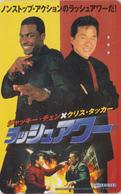 TC JAPON / 110-011 - CINEMA - JACKIE CHAN - RUSH HOUR - MOVIE JAPAN Phonecard - CHINA Rel - KINO TK - 11936 - Kino