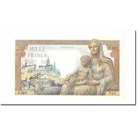 France, 1000 Francs, Déesse Déméter, 1942, 1942-11-05, NEUF, Fayette:40.10 - 1 000 F 1942-1943 ''Déesse Déméter''