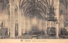 BASTOGNE - Intérieur De L'église Saint-Pierre - Bastenaken