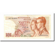 Billet, Belgique, 50 Francs, 1966, 1966-05-16, KM:139, TTB+ - [ 6] Schatzamt